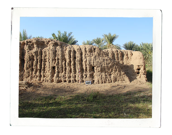 Fortress at al-Hilla, possibly dating from Early Islamic times (photo: Annett Dittrich)